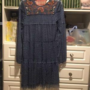 anthropologie(Maeve) brand babydoll dress